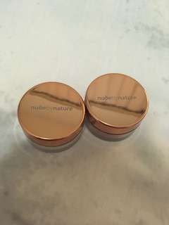 Nude by nature mini set