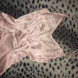Dusty Pink Silky Cami
