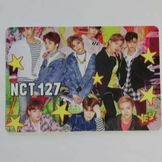 NCT127 yes card 夜光
