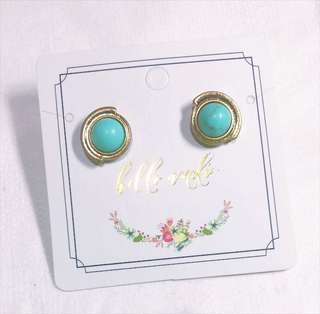 ✂️SALES✂️ Hello Amelie Turquoise Earrings