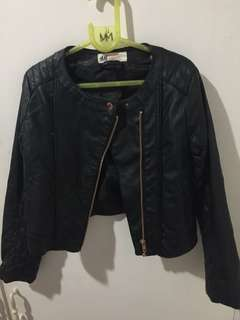 H&M leather jacket for kids (Girl)