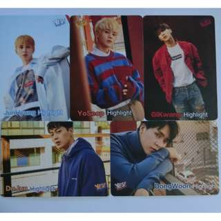 Highlight yes card