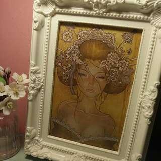 裝飾相框 畫框 日本新藝術 美術品 牆壁 設計 居家 雜貨