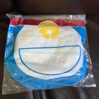 Doraemon 多啦A夢毛巾連Zip袋