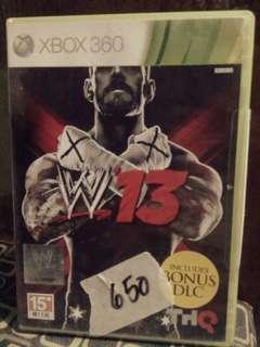 W13 xbox 360 game
