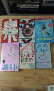 Set of 6 books
