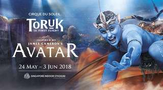 Reluctant to let go! Quick deal!!  TORUK – The First Flight by Cirque du Soleil