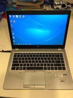 HP laptop 9470m with new battery 2018