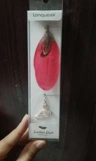 Feather style (book mark)