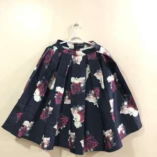 apartment eight floral skirt