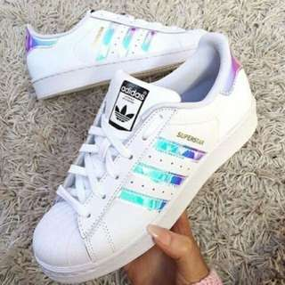 ReadyStock!Adidas Superstar spot shoes!