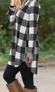 Chic long sleeved top