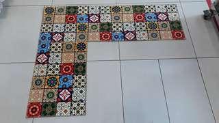 A Pair of Kitchen Floor Mats