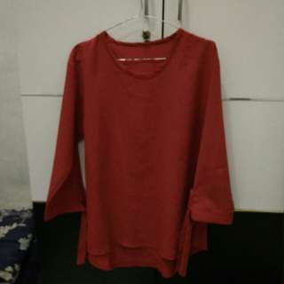Blouse Red Pre❤