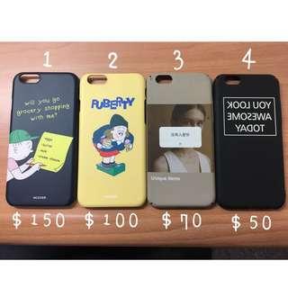 iPhone 6s 手機殼❤️ 超便宜出清 四個一起帶特價$329❤️