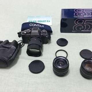 contax s2b 收藏用機 +carl zeiss鏡頭美品