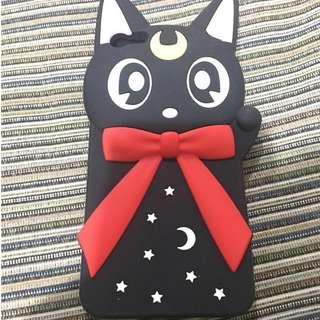 Silicon Sailor Moon Luna Iphone 6plus 6Splus Case