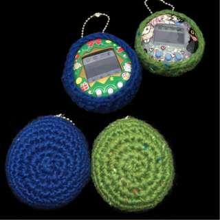 Tamagotchi Vintage Crochet Cover case