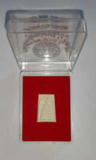 Thai Buddha Amulet Wat Rakhang mini Somdej 2555 Size 20X15 mm