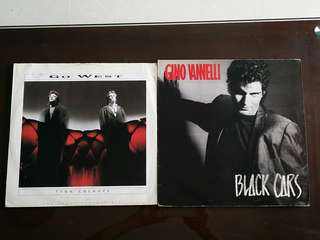 GO WEST ● GINO VANNETTI . true colours / black cars ( buy 1 get 1 free )  vinyl record