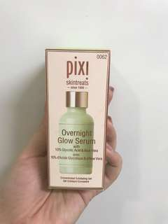Pixi overnight glow serum