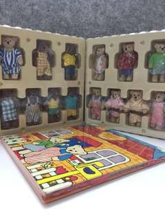Teddy Bears Play Set (Home) Pop up toy by McDonald's