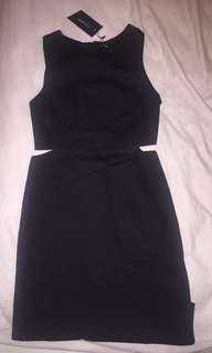 Zalora Cut out dress