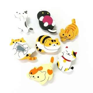 #229 cute cat kitty cats tumblr enamel pin   po