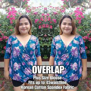 Plus Size Top (Overlap)