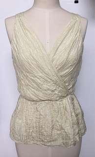 🚚 代友售 全新 美國品牌 Milly 美國製 全絲上衣