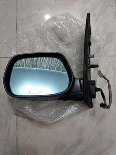 Toyota Picnic 左後鏡(灰色,尾期,電摺motor要換) 適合2004-2010年