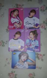 [YES CARDS]TWICE 簽卡