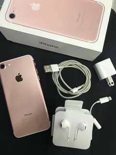 iPhone 7 32GB Rose Gold Factory Unlock NTC