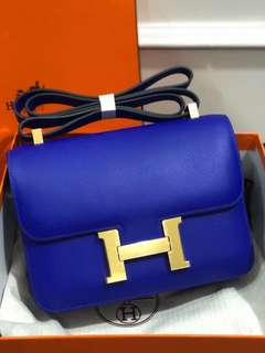 Ramadhan sale! hermes constance 24cm epsom mirror replica bag