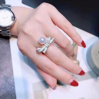大牌同款!8.5-9mm正圓基本無瑕強光櫻花粉日本akoya珍珠!媲美天女的顏色和光澤!只有8枚,售完無補!