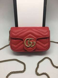 Ramadhan sale! gucci gg marmont mini mirror replica bag