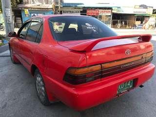 Toyota corolla gli matic