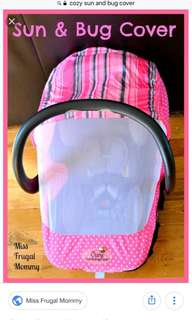 baby carrier seat cover