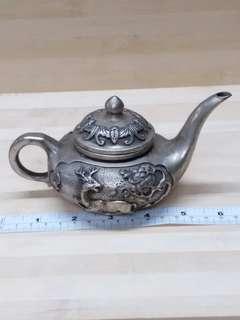 七吋銅水壺擺件