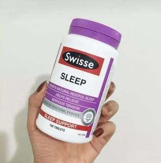 Swisse Sleep睡眠助眠片純草本精華100片