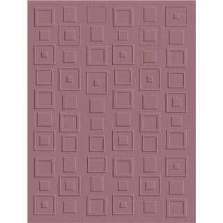 QuicKutz®️ Embossing Folder   Retro Squares