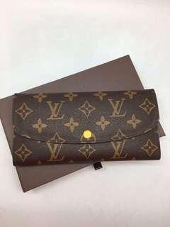 ramadhan sale! lv emilie reverse wallet mirror replica