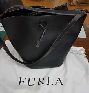 Brand New FURLA Bucket Bag Black
