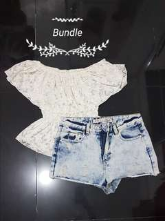 Off Shoulder & Short BUNDLE