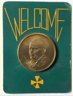 Pope John Paul II medallion