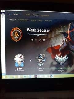 S2 League Account