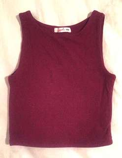 Fitted crop top (fits 4-6)