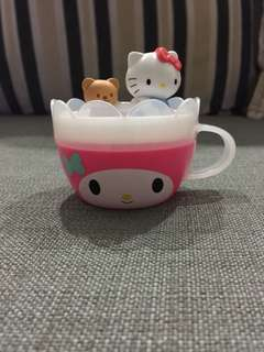 Hello Kitty & Melody cup