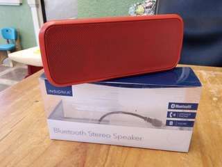 Insignia Bluetooth stereo speaker