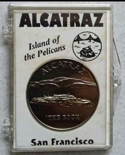Alcatraz medallion